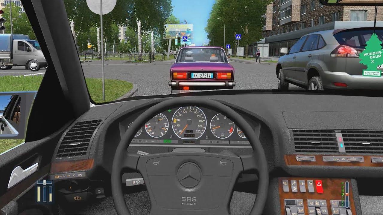 City Car Driving Mercedes Benz Download