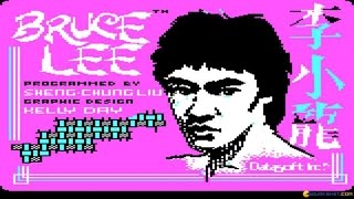 Bruce Lee gameplay (PC Game, 1984)