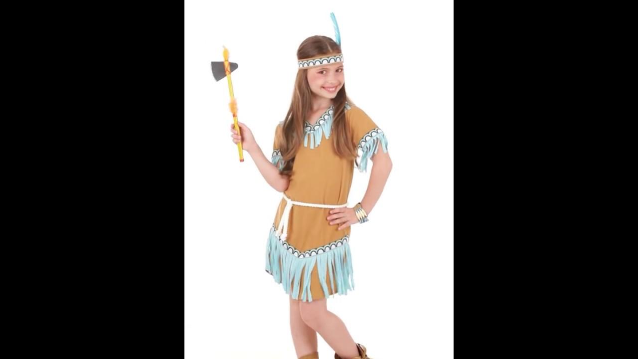 Disfraz De India Para Nina Youtube - Hacer-disfraz-india