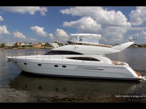 Yacht Rentals in Miami - 61 Viking Charter Boat available for Bahamas and Keys