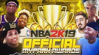 NBA 2K19 OFFICIAL MYPARK AWARDS