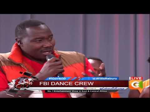 FBI dance crew exclusive on 10 over 10