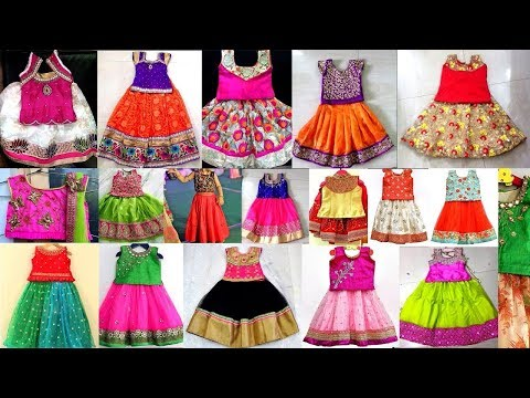 Latest Pattu Langa Blouse Designs For Kids Latest Traditional Pattu Pavadai Designs Buying Links Youtube
