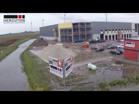 Voortgang bouw DC Dordtse Kil 3 (november 2016)