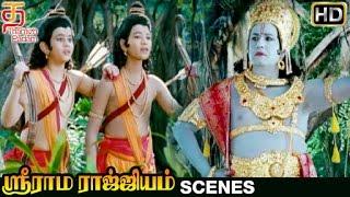 Sri Rama Rajyam Tamil Movie Scenes | Balakrishna Convincing Lava Kusa | Nayanthara | Ilayaraja