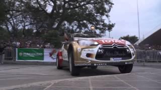Citroën WRC 2013 -- Rally de Argentina -- Road Show Córdoba