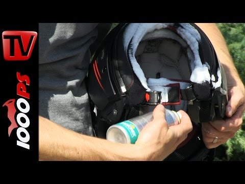 Helmpflege / Textilpflege beim Motorrad