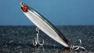 How To Make A Wooden Fishing Lure From A Paint Brush Handle