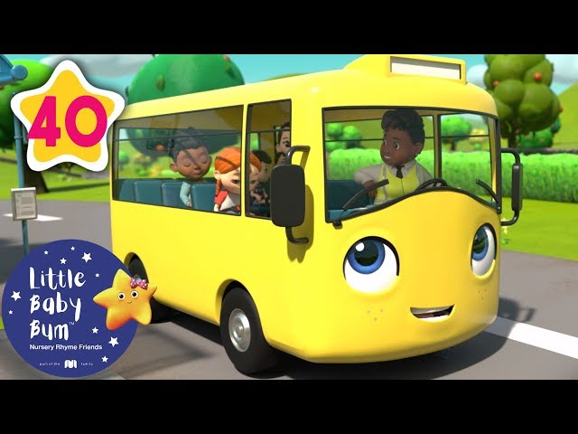🚌 Wheels on the bus SONG 🚌 Baby Songs | +More Nursery Rhymes & Kids Songs | Little Baby Bum