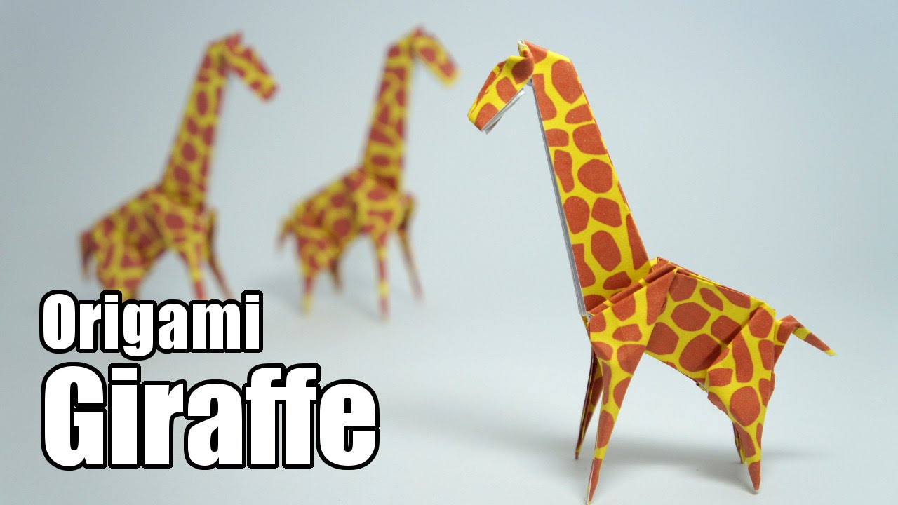 Origami Giraffe (Jo Nakashima) - YouTube - photo#2
