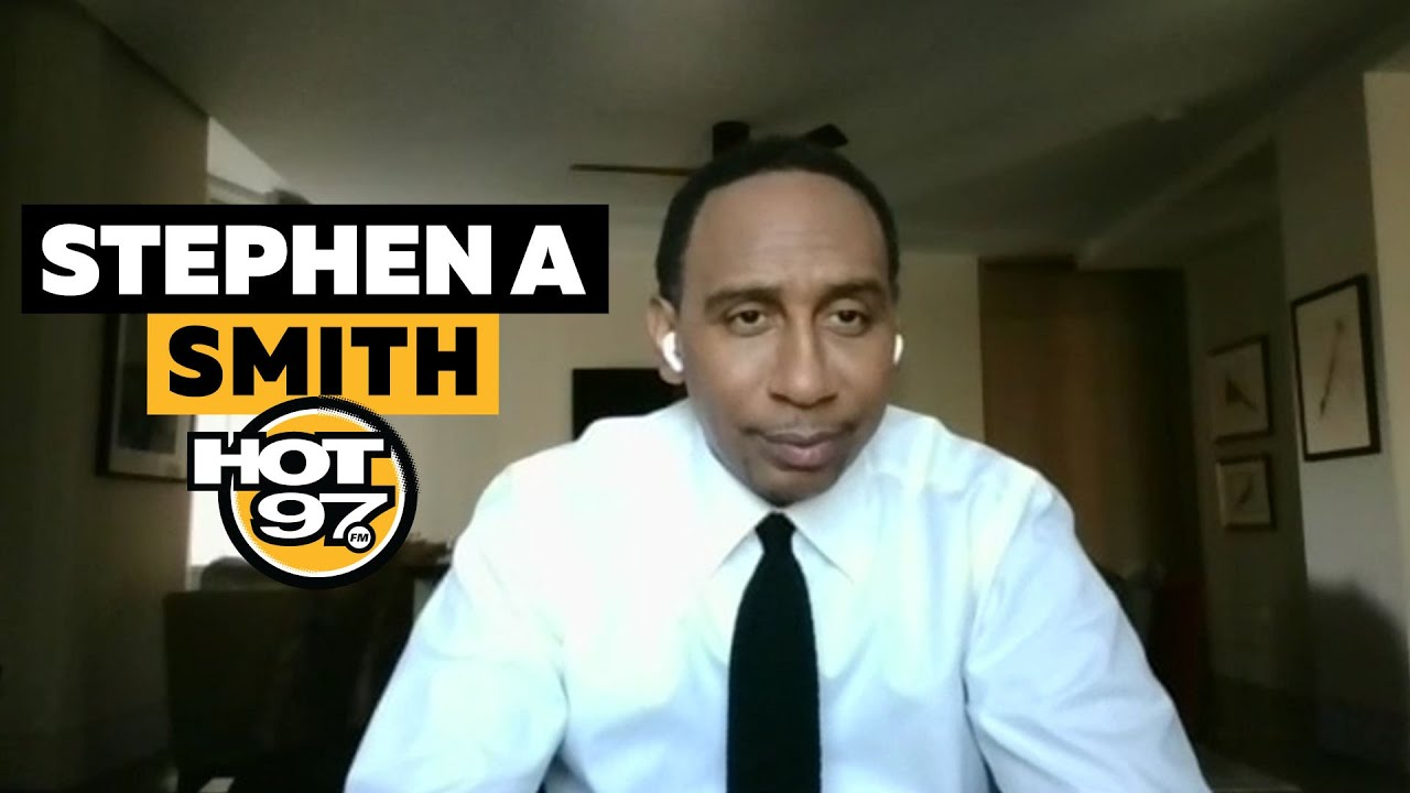Stephen A. Smith Addresses Steve Nash Comments, Cam Newton + HBCU Week!