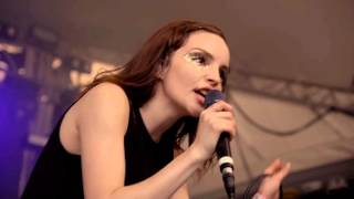 chvrches — clearest blue live at spin at stubbs sxsw 2016