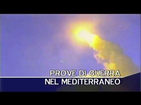 Prove di guerra nel Mediterraneo. TG3 03-09-2013 19:00