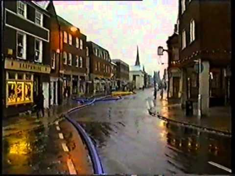 Chichester Flooding - A City Saved 1993-1994