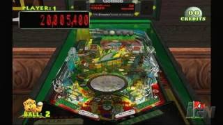 Pinball Hall of Fame: The Gottlieb Collection Nintendo Wii Gameplay - Teed Off