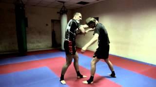 Тайский бокс Дома - Фишка для разрыва клинча