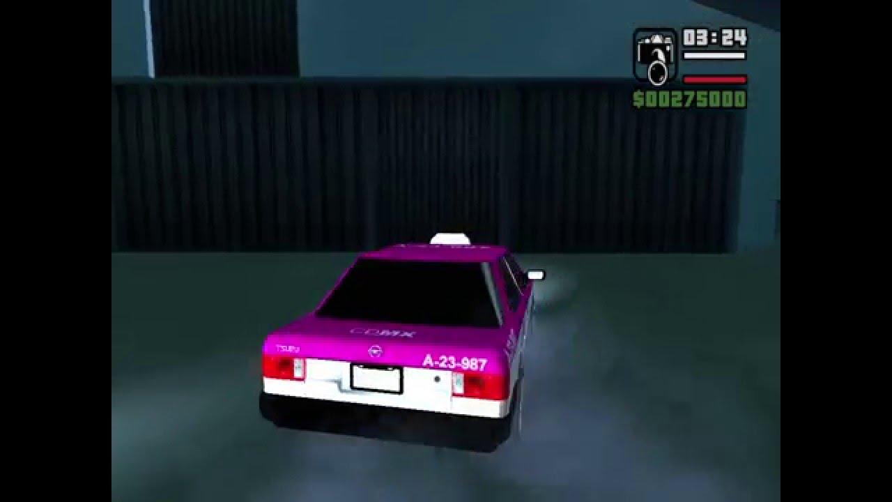 Nissan Tsuru Taxi Mexico GTA San Andreas