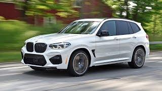 BMW X3 M 2019 в динамике