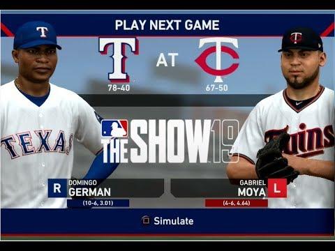 mlb-the-show-19---texas-rangers-franchise-yr-2---gms-119-121-vs-minnesota-twins