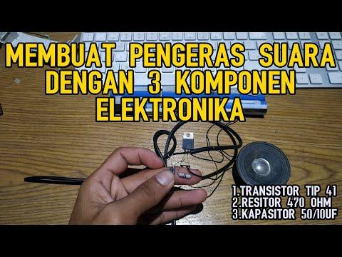 cara-membuat-rangkaian-amplifier-dengan-3-komponen-elektronika