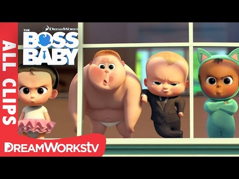 The Boss Baby ALL CLIPS Official | THE BOSS BABY