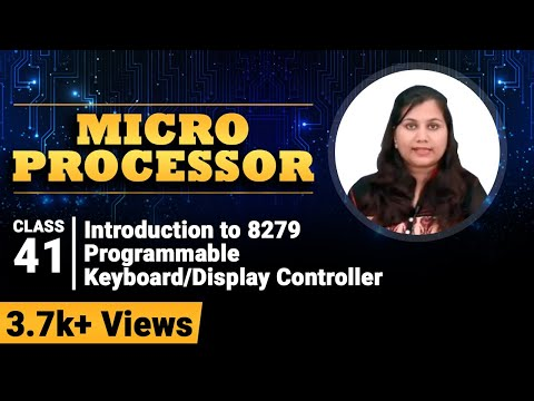 8279 Programmable Keyboard/Display Controller  - Microprocessor for Degree Engineering