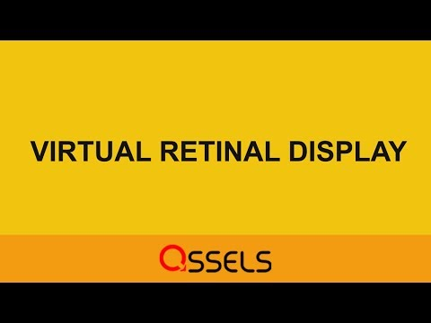 Seminar Presentation By Computer Engineering Students | Virtual Retinal Display