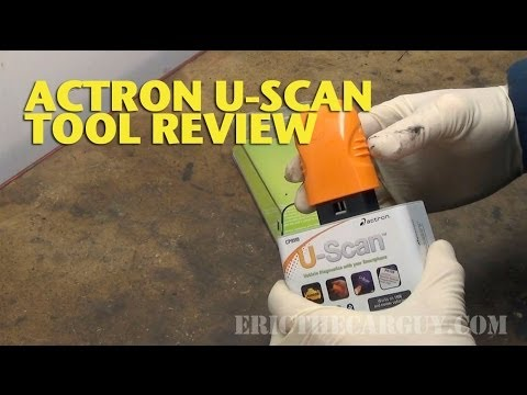 Actron U-Scan Tool Review -EricTheCarGuy