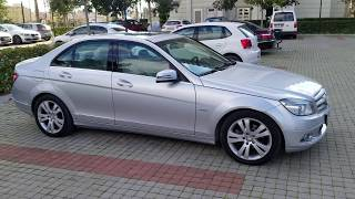 2010 w204 mercedes c180 avandgarde inceleme/test