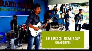 Don Bosco College Week-2017 Grand Finale Rocks