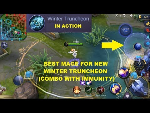Best Mage For Winter Truncheon Immune (Ultimate Combo) - Mobile Legends