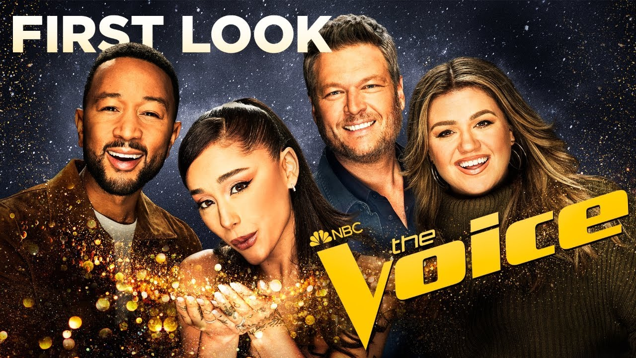 Download The Voice, Season 21: First Look   Ariana Grande is here!