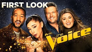 Download The Voice, Season 21: First Look | Ariana Grande is here!