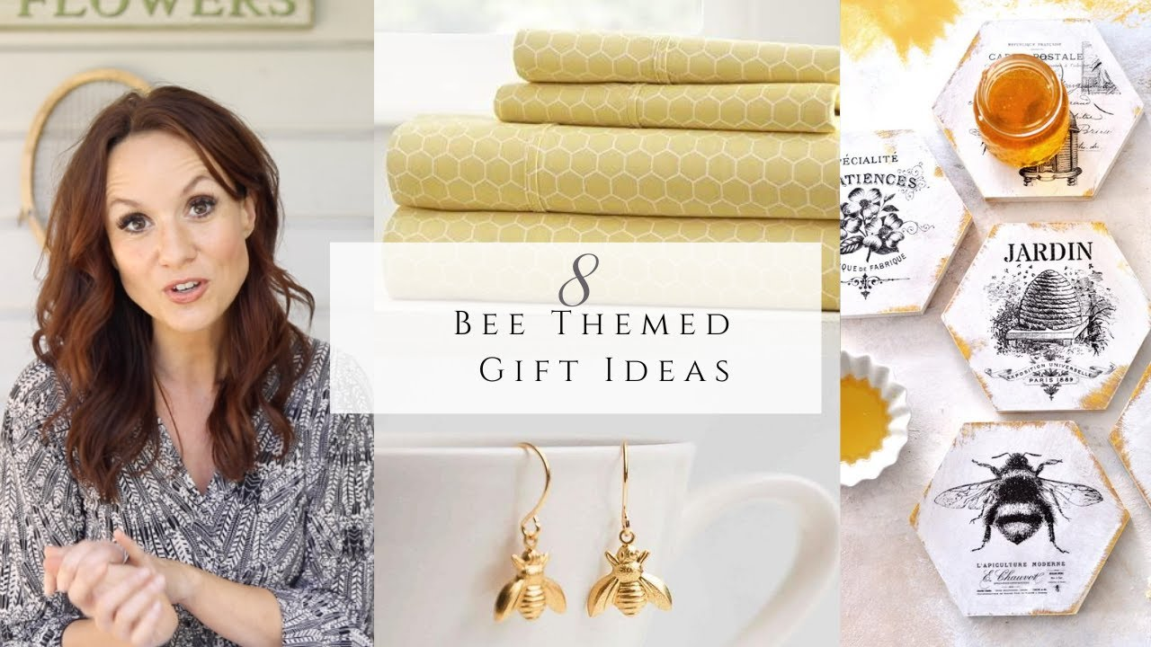 8 Bee Themed Gift Ideas