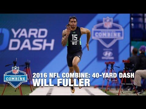 Will Fuller (Notre Dame, WR) Lights Up The 40-Yard Dash | 2016 NFL Combine
