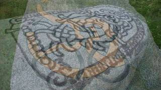 Stone runes, руны, руна на камнях