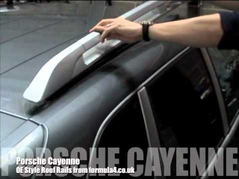 Fitting Porsche Cayenne Oe Style Roof Bars Youtube