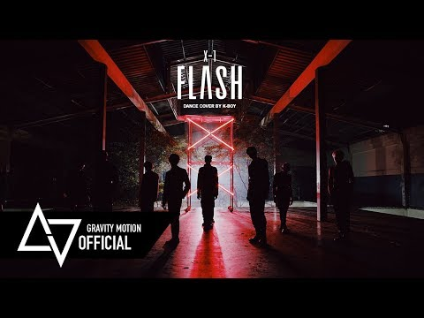 """[ GRAVITY X K-BOY ] M/V Cover Dance X1 """"FLASH"""" Dance Cover By K-BOY From Thailand"""