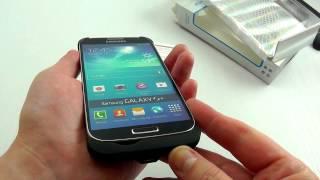 видео Мощный аккумулятор на 5200 мАч для Galaxy S4