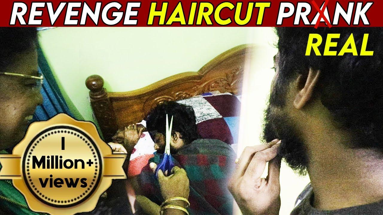 REVENGE PRANK WENT WRONG !! Haircut & Beard Transformation