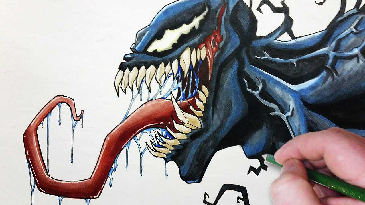 Let S Draw Venom Your Friendly Neighborhood Symbiote