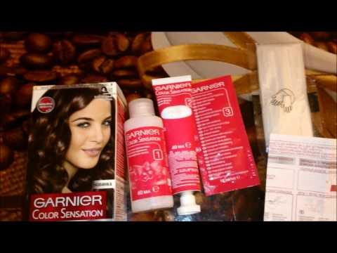 Garnier Color Sensation. Мой опыт окрашивания волос.