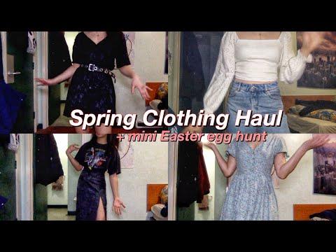 🌸spring try on clothing haul [Motel Rocks, ASOS, SheIn, Lazy Oaf +]🌸