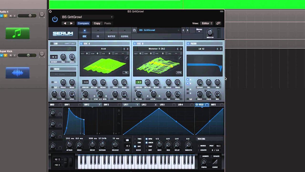 Logic tutorial: polyrhythmic acid bass lines w/ es2 synth secret.