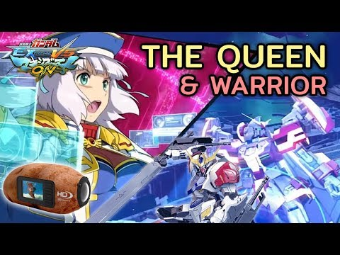[MBON] Da Queen and De Wae (Potato Quality) | Extreme Gundam Excellia | Barbatos Lupus Gameplay