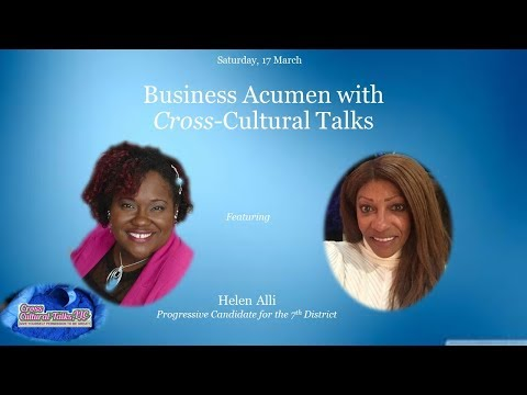 Progressive Candidate for the 7th District, Helen Alli_ Business Acumen with CCT