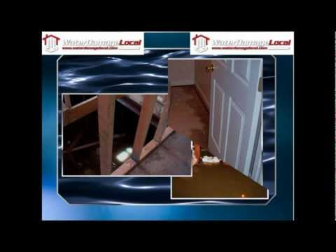 Flooded Basement in League City, Texas - Water Damage Local