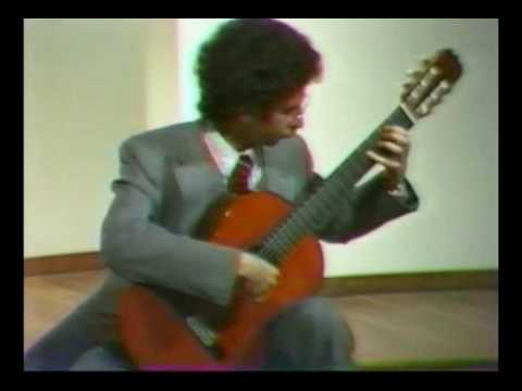 Rare Guitar Video: Michael Newman plays Prelude(BWV1006a) by Bach
