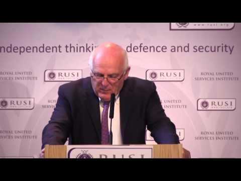 Sir Richard Dearlove on Re-appraising the Counter-Terrorist Threat