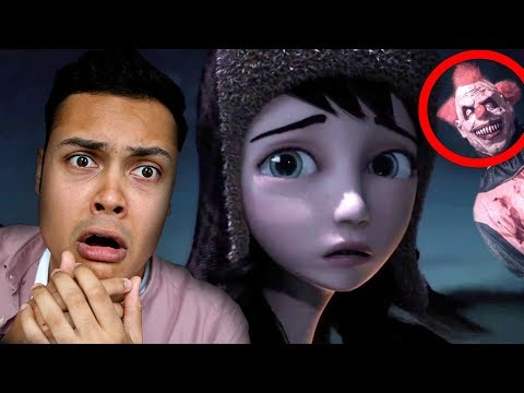 REACTING TO SCARY ANIMATIONS #3 (DO NOT WATCH AT NIGHT) streaming vf